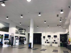 Instalación concesionario BMW