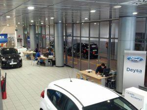 Instalación concesionario Ford Deysa