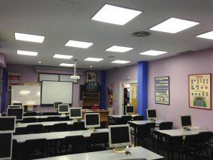 Instalación aula