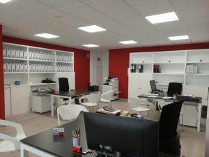 Instalación oficina