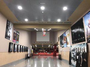 Instalación cine