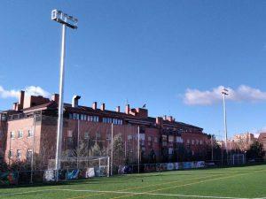 Instalación campo de fútbol