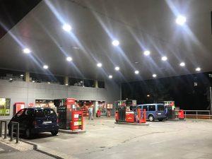 Instalación gasolinera Cepsa